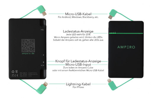 Ampero Batterypack