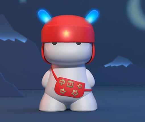 Original Xiaomi Mi Rabbit Bluetooth 4.0 Wireless Speaker blau