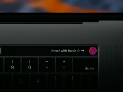 Touch Bar Touch ID