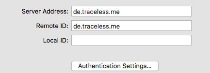 Servername VPN