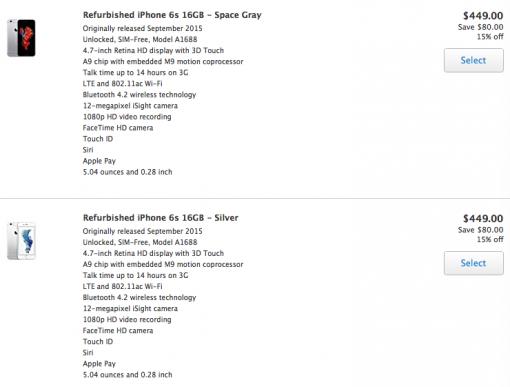 generalüberholte iPhones