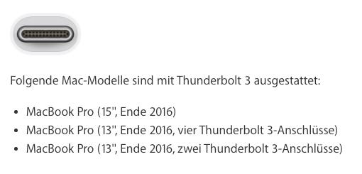Thunderbolt 3 to Mini-DisplayPort Adapter: It exists, but