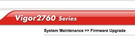 Wichtige Updates für DrayTek Vigor 2760 und Vigor 130 - mac&egg
