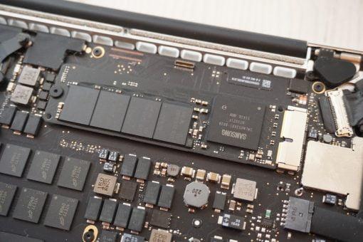 MacBook Retina NVMe SSD