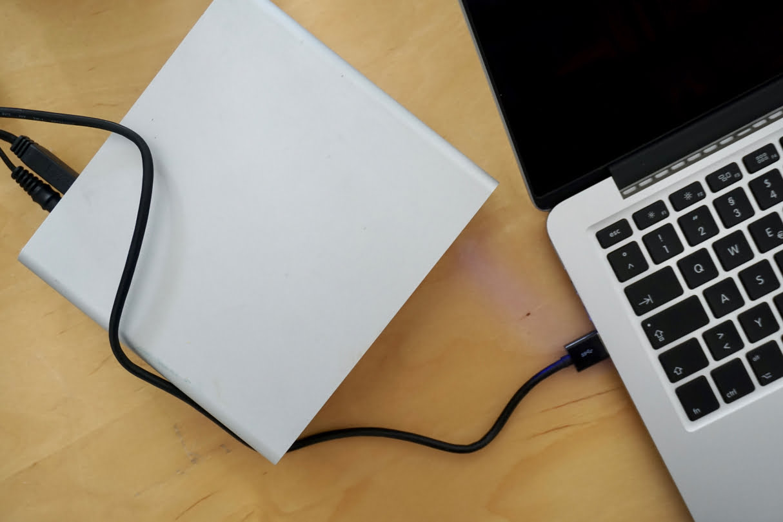 externe festplatte firewire mac test