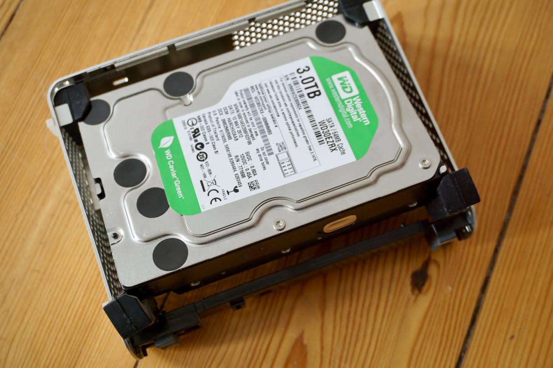 DIY: Replace hard drive in My Book Studio Firewire enclosure