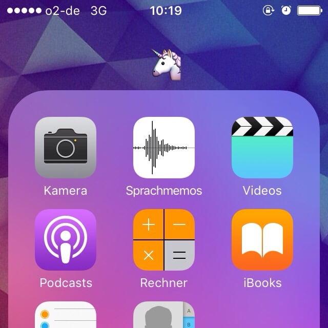 Einhorn ist auch eine Kategorie: Ordner in iOS mit Emoticons bezeichnen