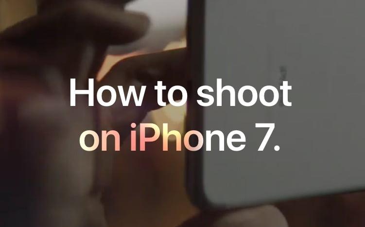 So gehts laut Apple: Fotos mit dem iPhone 7 machen