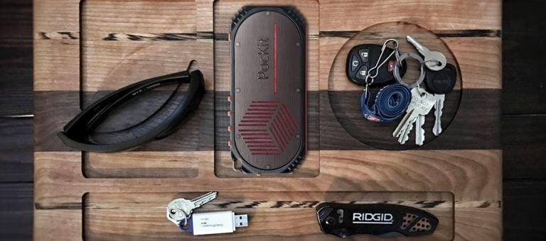 PocKit: Akkupack, Bluetooth Lautsprecher, Taschenlampe und Alarm