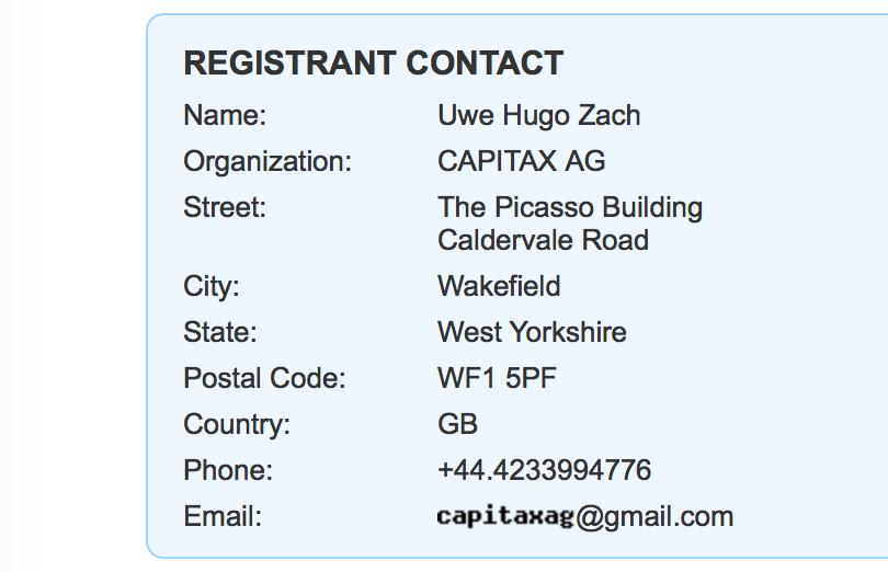 Registrant Contact