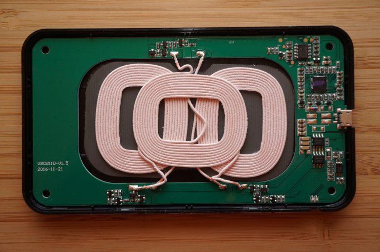 Vinsic 3 Spulen drahtloses Ladegerät für einfacheres Ablegen
