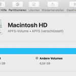 macOS 10.13: Externe verschlüsselte APFS Laufwerke unsicher