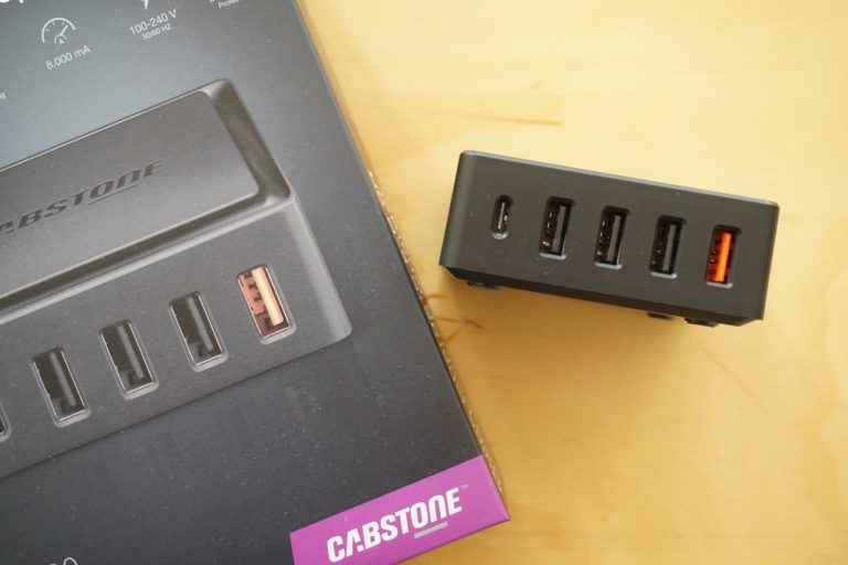Review: Cabstone Quick Charge 3.0 Ladegerät mit USB-C Port