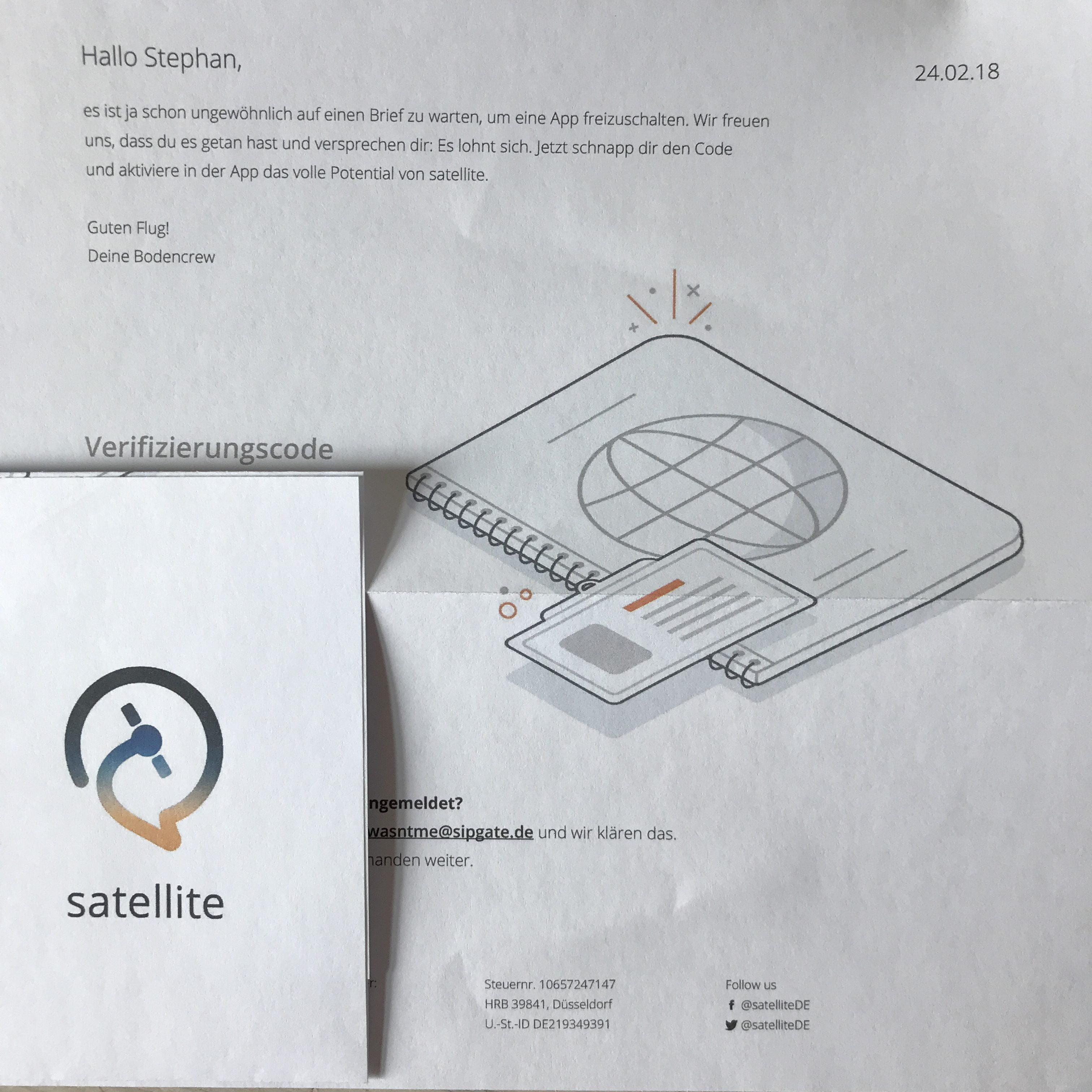 Satellite App: Kostenlose Mobilfunknummer ohne SIM-Karte - mac&egg