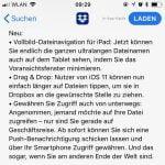 iOS Dropbox App jetzt in Vollbild und mit Drag & Drop