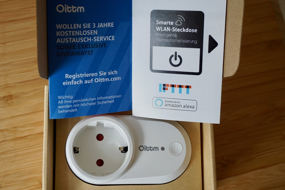 smart home review oittm smart plug wlan funksteckdose im test mac egg. Black Bedroom Furniture Sets. Home Design Ideas