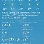 Sommervorbereitung: UV Index in der iOS Wetter App anzeigen