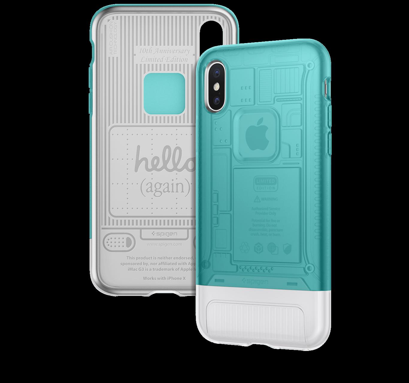 promo code 51e9c 2d15a Spigen offers iPhone X cases in iMac G3 design - mac&egg