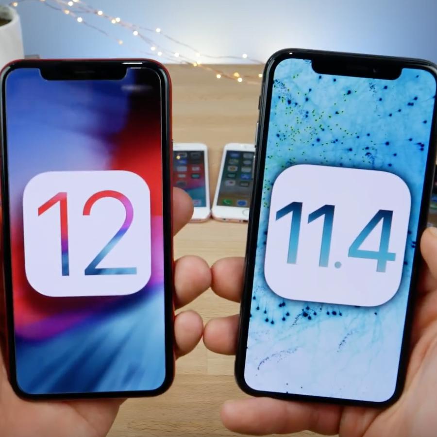 iOS 11.4 iOS 12