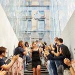 Apple eröffnet ersten Store in Mailand in neuem Design