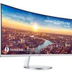 Samsung C34J79 34 Curved Monitor mit Thunderbolt 3