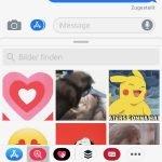iOS: Animierte GIFs jetzt in Nachrichten App verfügbar