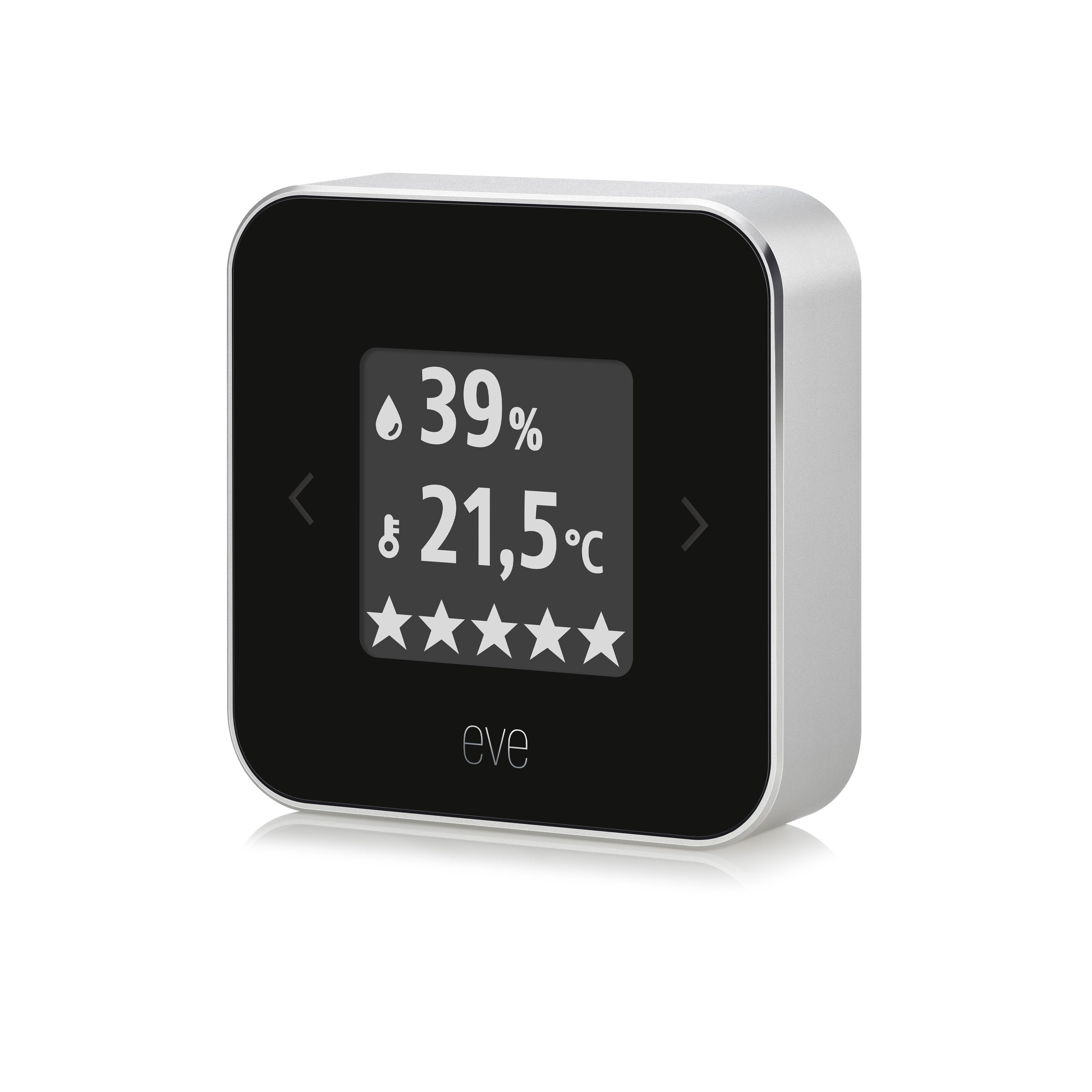 eve room: Überwachung von Temperatur und Luftfeuchtigkeit - mac&egg