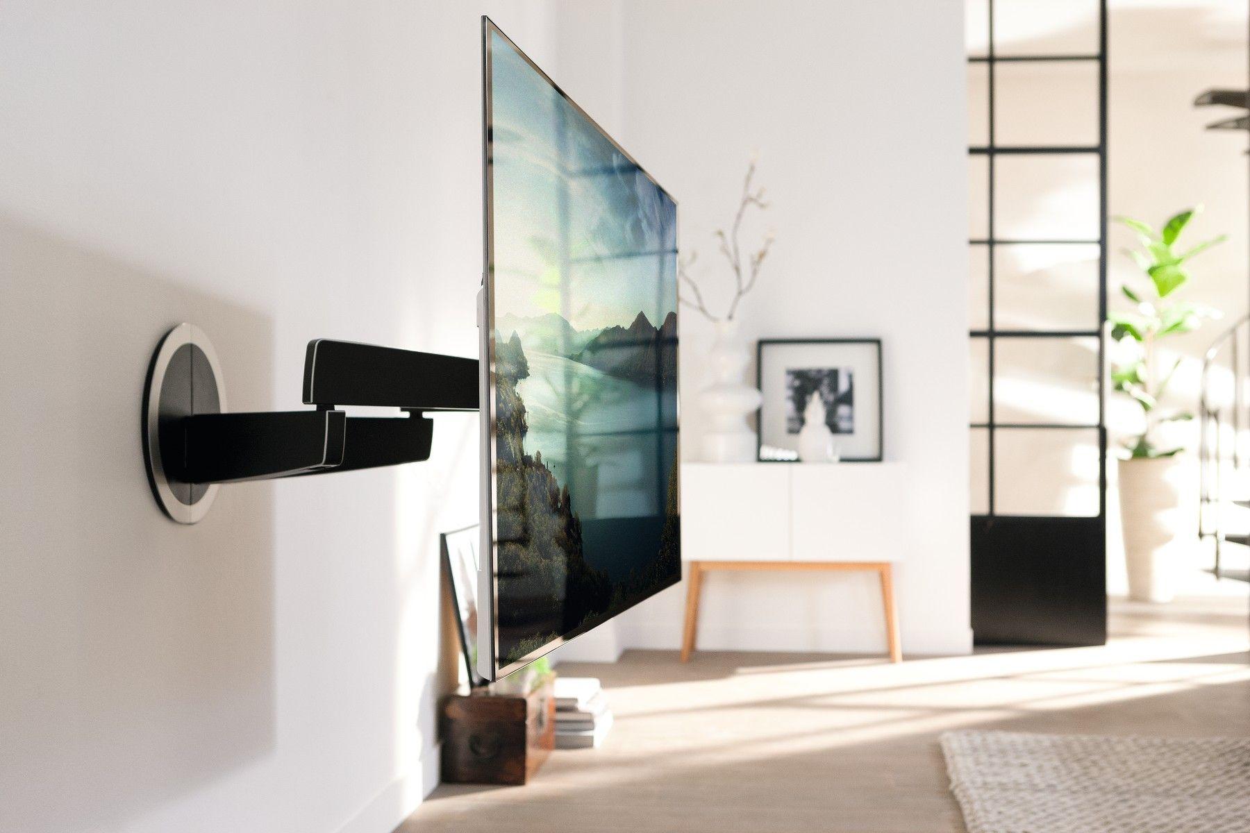 Vogelu0027s Motorisierte Und Automatisch Schwenkbare TV Wandhalterung