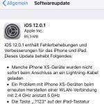 iOS 12.0.1 steht bereit: ausgeschaltete iPhones laden wieder