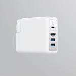 DockCase Adapter: Ansteckbarer USB-Hub und HDMI Ausgang fürs MacBook Netzteil