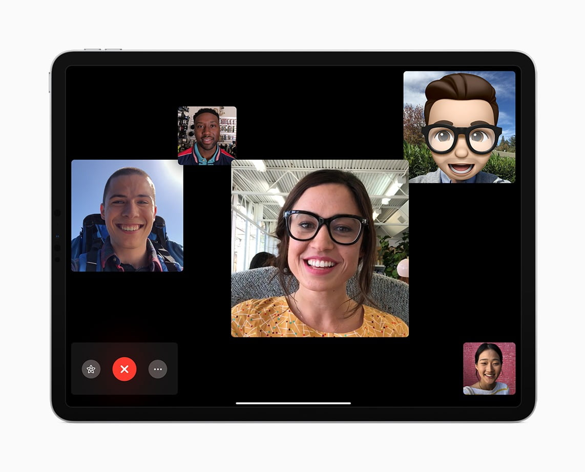 iPad Pro group FaceTime 10302018