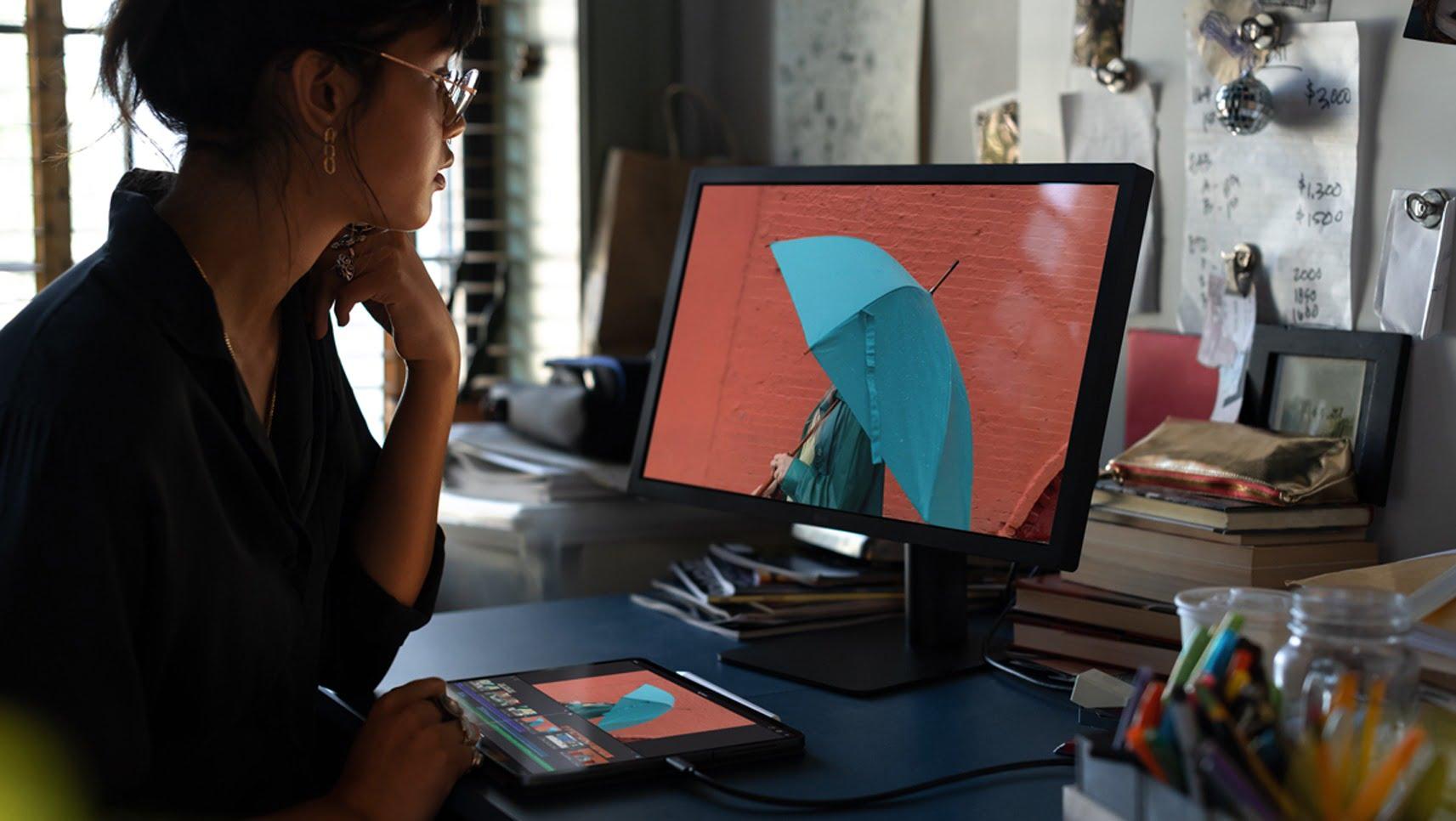 iPad Pro versatility monitor 10302018