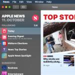 Apple News App auf deutschem macOS Mojave System hervorzaubern