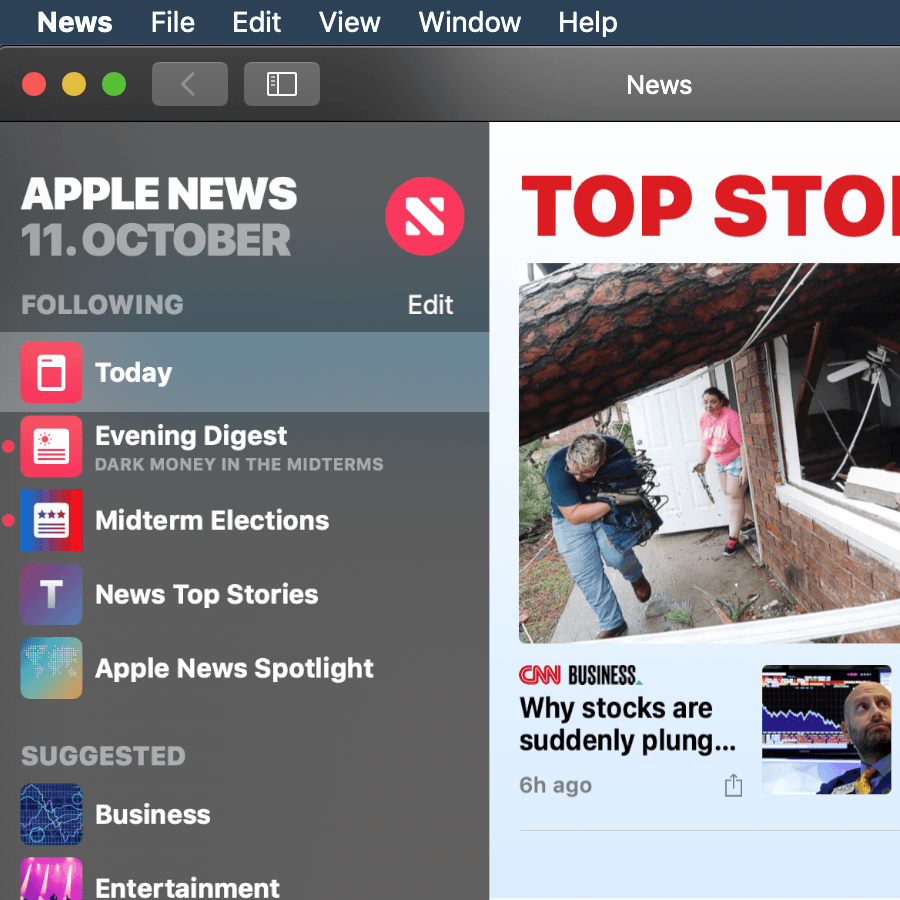 news app en