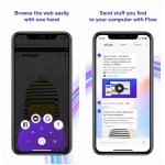 Für Einhandbedienung optimiert: Opera touch Browser für iOS