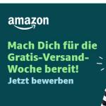 Ab sofort eine Woche lang Gratis-Versand bei Amazon