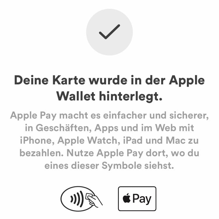 VIMPAY als kostenlose Apple Pay MasterCard Alternative