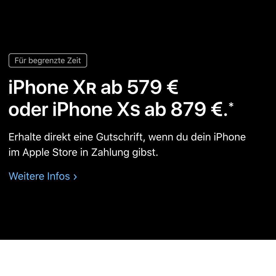 iphone xr rebate