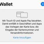 Anleitung: Wie man Apple Pay auf dem iPhone einrichtet