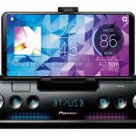 Pioneer SPH-10BT Autoradio nutzt iPhone als Display