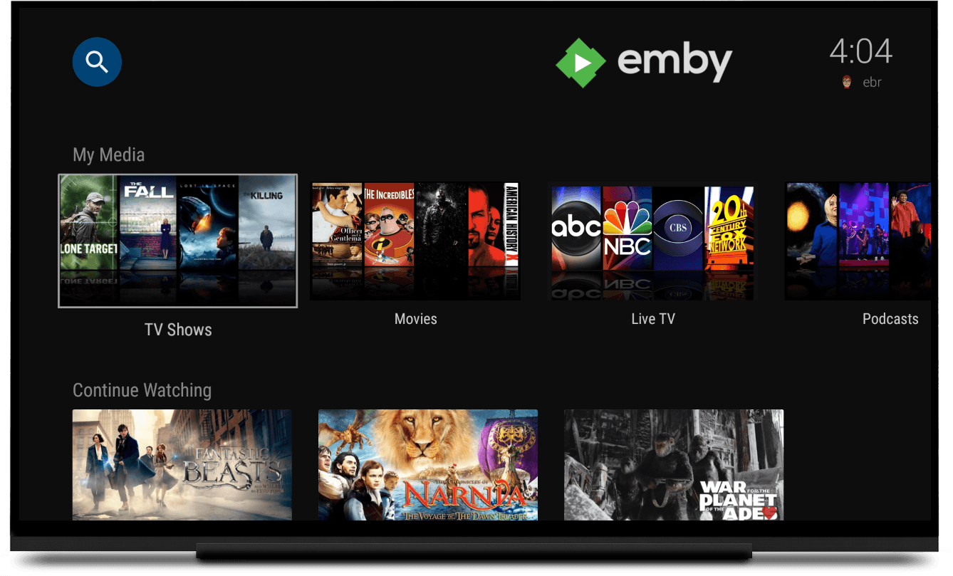 emby overview
