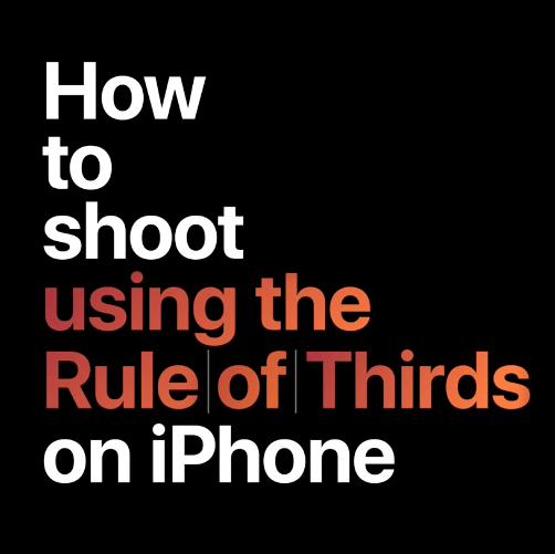 iphone how to video camera