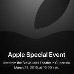 Apple läd zum Special Event am 25. März
