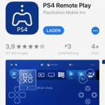 Remote Play App für die Sony PS4