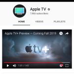 Apple erstellt eigenen YouTube Channel für Apple TV