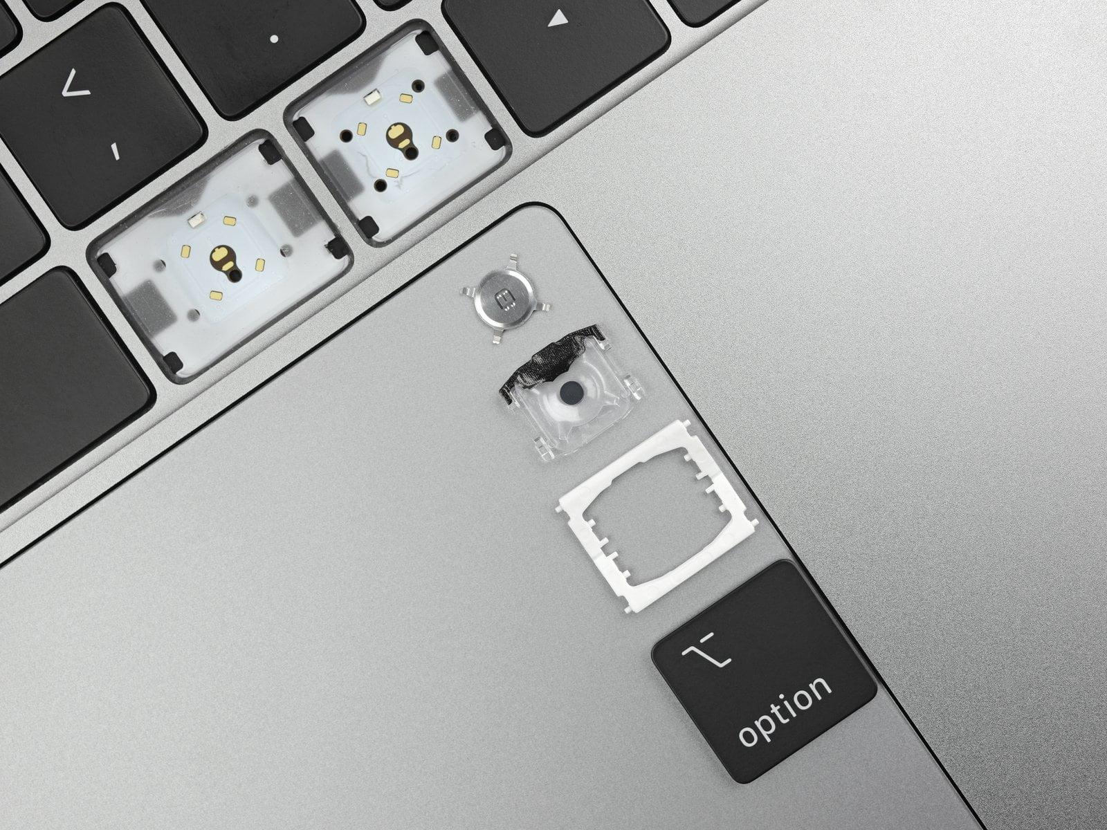 ifixit macbook pro keyboard 2019