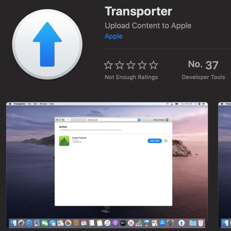 Transporter App: Eine Lösung um Inhalte an Apple hochzuladen