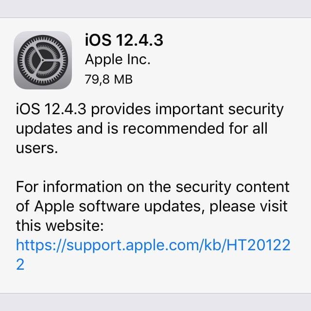 Super: Update für iOS 12 auf älteren Geräten