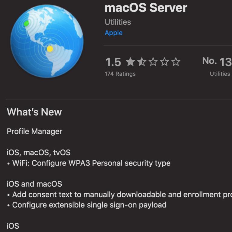 Neue Versionen von macOS Server und Configurator 2