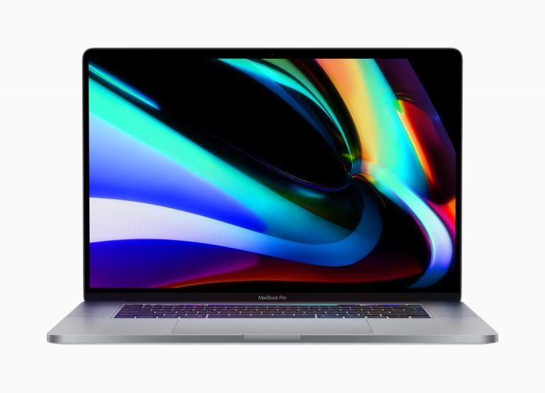 Neues 16″ MacBook Pro mit Magic Keyboard und min. 512 GB SSD